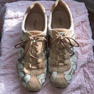 Coach tennis sneakers